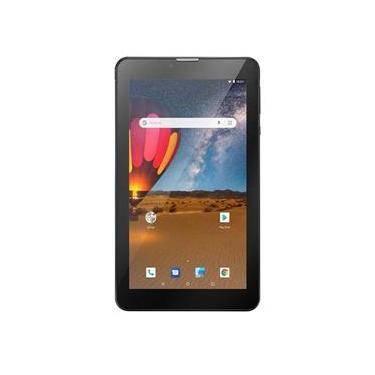 Tablet Multilaser NB304 M7 3G Plus Dual Chip 16Gb Quad Core 7 Pol Preto