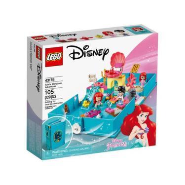Imagem de Lego Disney Princess Aventuras Do Livro Da Ariel - 105 Peças 43176