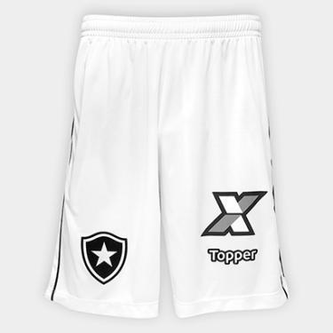 Calção Botafogo III 2018 Topper Masculino - Masculino 637b3c6cd9ed7