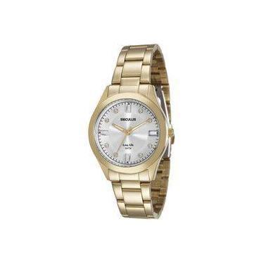 fea33517ac7 Relógio de Pulso Feminino Seculus Analógico Americanas