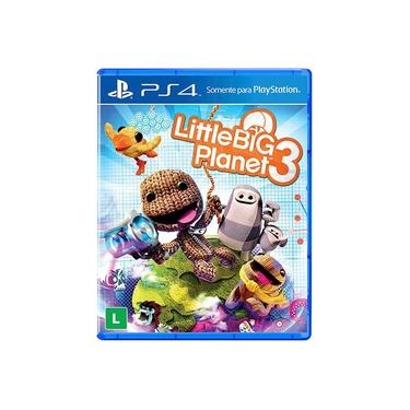 Game Little Big Planet 3 - versão em inglês - Ps4
