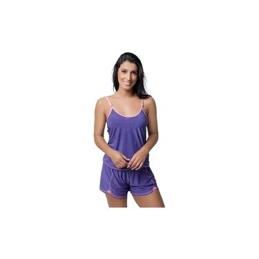 Kit com 5 Baby Doll Pijamas Sensual Liganete Short Doll Camiseta
