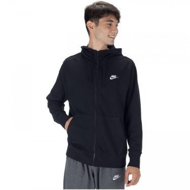 Jaqueta com Capuz Nike Club Hoodie FZ FT - Masculina Nike Masculino