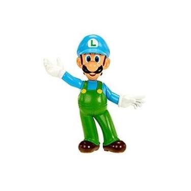 World Of Nintendo-Mini Figura Ice Luigi Dtc 3530