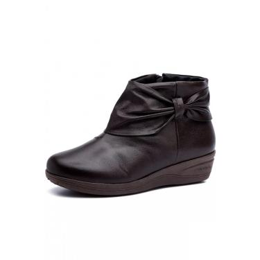 Bota Feminina Doctor Shoes 158 Café 158-CF-58-1042 feminino