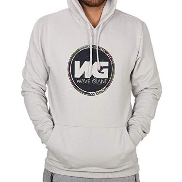 Moletom Canguru Wg Logo - Gelo - G