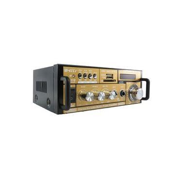 Mini amplificador modulo teli Bt-118 com bluetooth karaoke