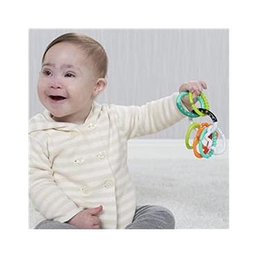 Imagem de Chocalho de Anéis Infantino Texturizados - Infantino
