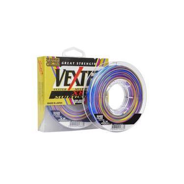 Linha Multifilamento Vexter X8 Multicolor 0,40Mm 300M 60Lbs