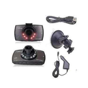 Imagem de Camera Filmadora Veicular Automotiva Hd Visão Noturna led filma batida visor lcd