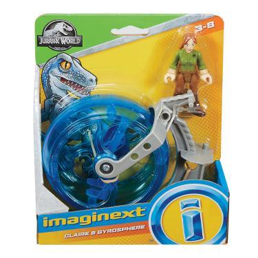 Imaginext Jurassic World Claire Gyrosphere - Mattel