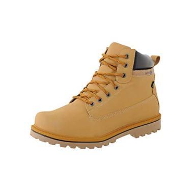 Coturno Adventure Masculino Casual CR Shoes Mostarda