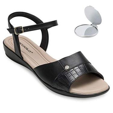 Sandália Comfort Piccadilly e Espelho Pd20-5002
