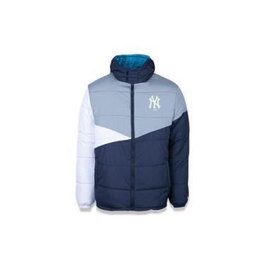 Jaqueta Dupla Face New York Yankees Mlb Marinho/azul New Era