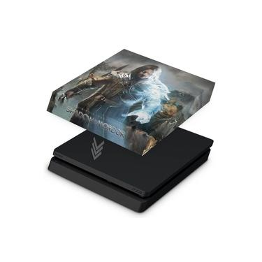 Capa Anti Poeira para PS4 Slim - Middle Earth: Shadow of Murdor