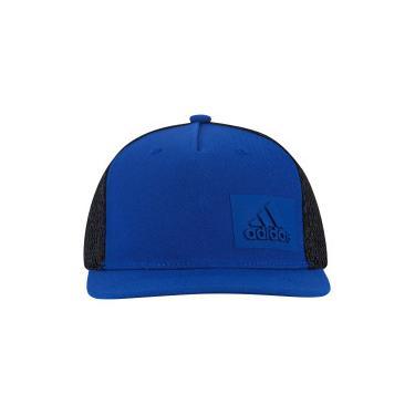 Boné Aba Reta adidas H90 - Snapback - Trucker - Adulto - AZUL PRETO adidas 1b29a85408b