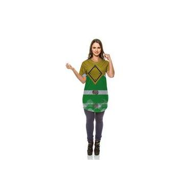 Mini Vest Power Rangers Traje Ranger Verde