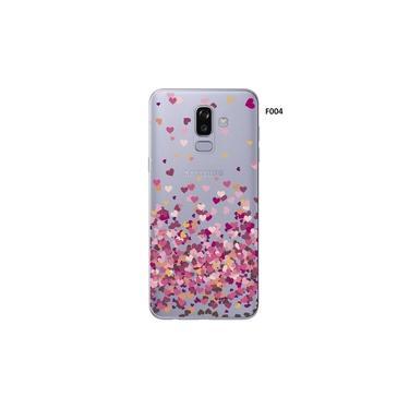 Capa Case Capinha Femininas Samsung Galaxy A8 SM A530 Corações