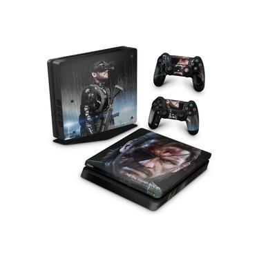 Skin Adesivo para PS4 Slim - Metal Gear Solid V