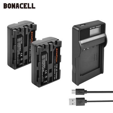 Imagem de 2400mAh NP NP-FM500H FM500H Bateria para Sony Alpha A58