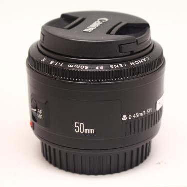 Imagem de Canon ef-lentes de câmera 50mm f/1.8 ii, usadas