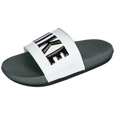 Imagem de Sandália masculina Nike Offcourt Slide, Dark Grey/Black-white, 8