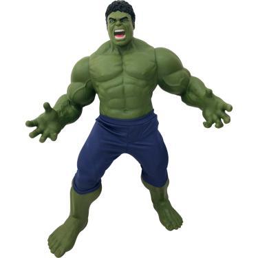 Boneco Mimo Marvel Vingadores Guerra Infinita - Gigante 49 cm de Altura - Hulk