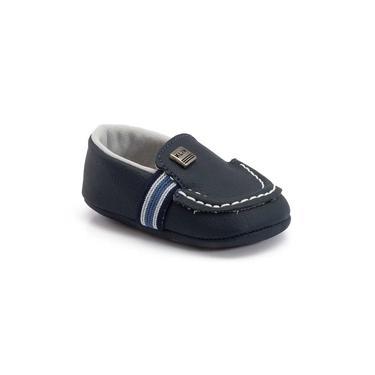 Sapato Klin masculino Recém Nascido marinho