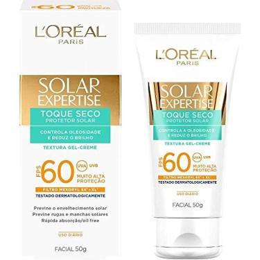 Protetor Solar L'Oréal Paris Solar Expertise Facial Toque Seco FPS 60-50g