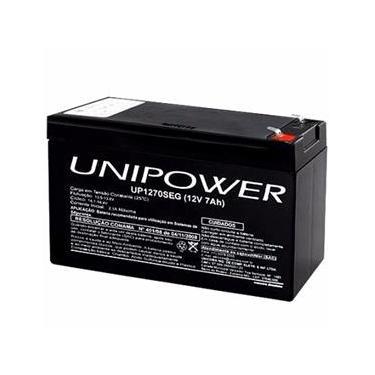 Bateria Selada 12V 7Ah UP1270SEG - Unipower