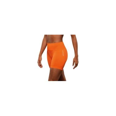 Imagem de Short Feminino Lupo Lsport Basic Fitness Tam M Laranja 71348-001