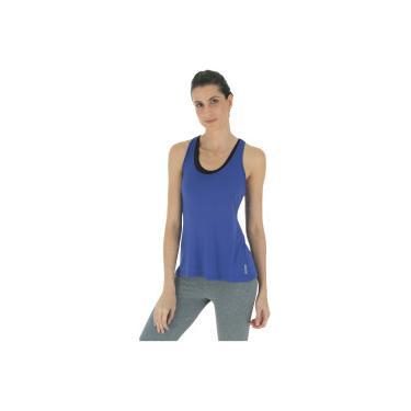 Camiseta Regata Campeão Oxer Jogging New - Feminina - AZUL PRATA Oxer 970a3440b08