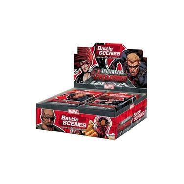 MARVEL Battle Scenes Booster Box (36 unidades) Iniciativa Vingadores