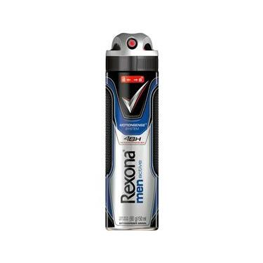 Desodorante Antitranspirante Aerosol Rexona 12 Unidades Men Motionsense Active Dry - 150ml