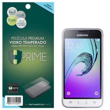 Pelicula de Vidro temperado 9h HPrime para Samsung Galaxy J1 2016 (J120), Hprime, Película Protetora de Tela para Celular, Transparente