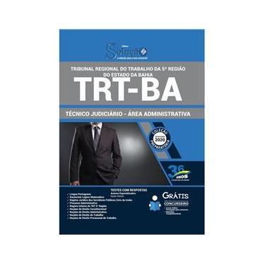 Imagem de Apostila Trt Ba - Técnico Judiciário – Administrativa