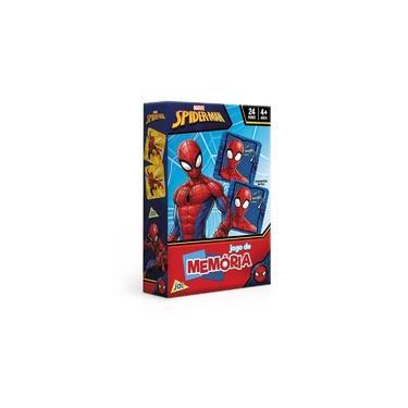 Imagem de Jogo da Memória Marvel Spider Man Homem-Aranha Toyster 2629