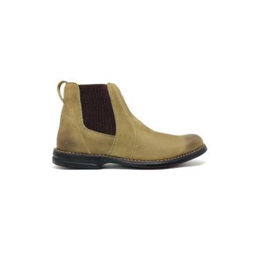 Bota Confort Sandalo Caqui  masculino