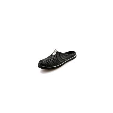 Chinelos Baotou Bird's Nest Sapatos de praia pretos tamanho 43