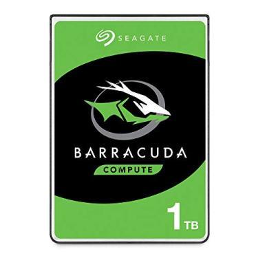 HD Interno, Barracuda Compute HDD 2.5, 1TB, ST1000LM048, Seagate, HD interno, Prata