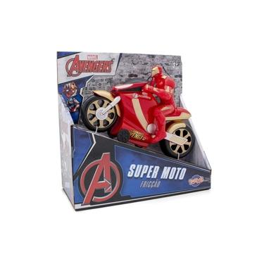 Imagem de Super Moto Homem de Ferro - Veículo de Fricção - Toyng