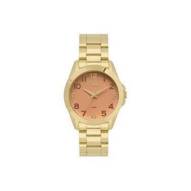 d3a0934fb9b Relógio Condor Feminino Bracelete Dourado - Co2035kwx k4l