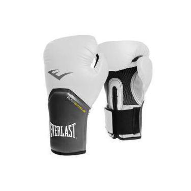 Luva everlast boxe ever shield pro style elite 12 oz branca 5326f0b344c9c