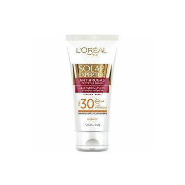 L'oréal Paris Solar Expertise Facial Antirrugas Fps 30 - Protetor Solar 50g