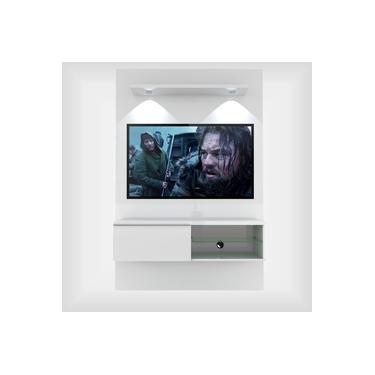 Painel Suspenso 1,20 m com Luminária LED Para TV de 46 Polegadas Lúmia Plus