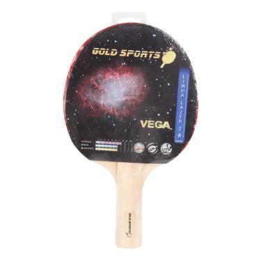 Raquete Tenis De Mesa Gold Sports Vega - Unissex