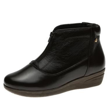 Imagem de Bota Anabela Doctor Shoes 155 Café 155-CAFE-58-1042 feminino