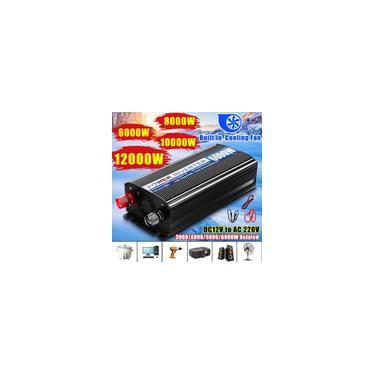 12000W Picos Carro Inversor 12V 220V 2 USB Modificado Ondas Senoidais Poderes Inversor Transformador Conversor de Tensão 6000/5000/4000 / 3000W