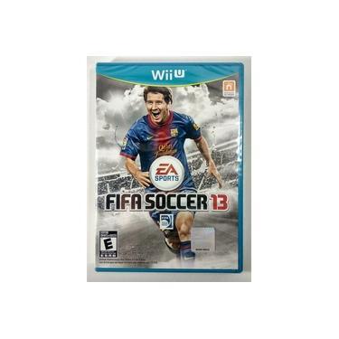 Jogo Nintendo Wii u Fifa Soccer 13 Original (Lacrado)