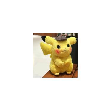 Imagem de Pelúcia -Boneca Detetive Pikachu 28cm